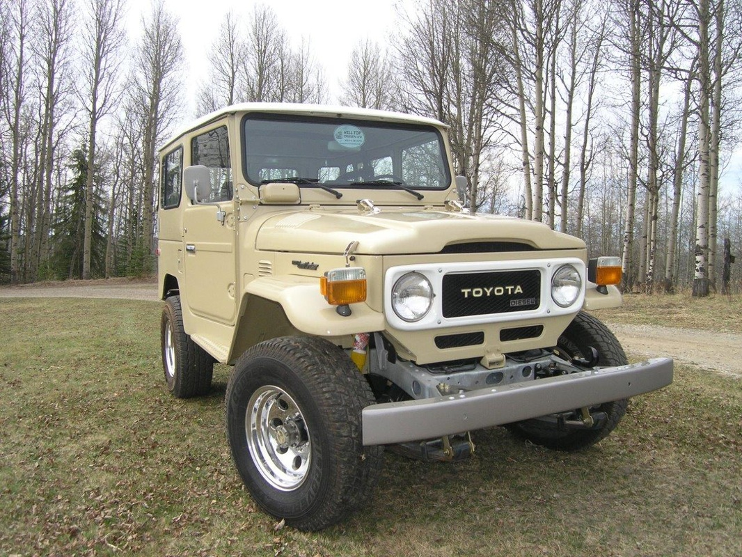 Cruisers For Sale Hilltop 1983 Toyota Land Cruiser In Stock And Currently Sold Bj42